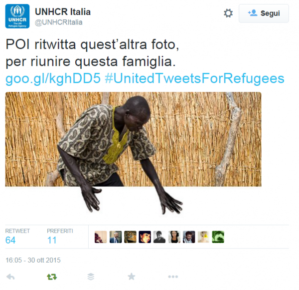 unhcr-united tweets for refugees-2